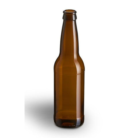 Glass Beer Bottles (Brown - 24 x 355 ml) - Toronto Brewing