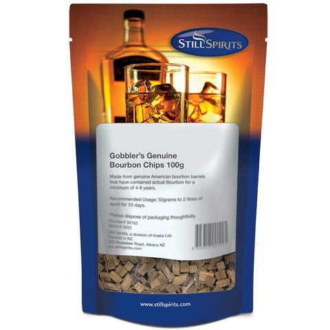 Still Spirits Gobbler's Genuine Bourbon Chips (100 g)