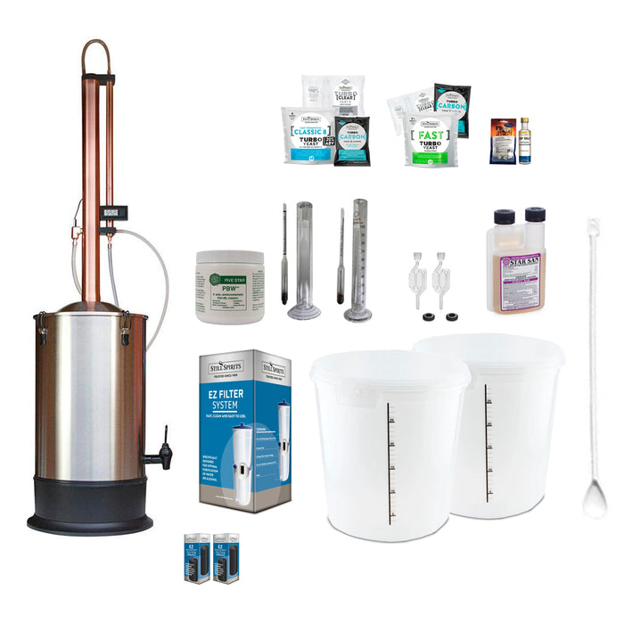 Still Spirits Turbo 500 with Copper Condenser Deluxe Starter Pack