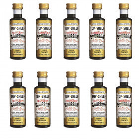 Still Spirits Top Shelf Kentucky Bourbon Essence (50 ml) - 10 PACK