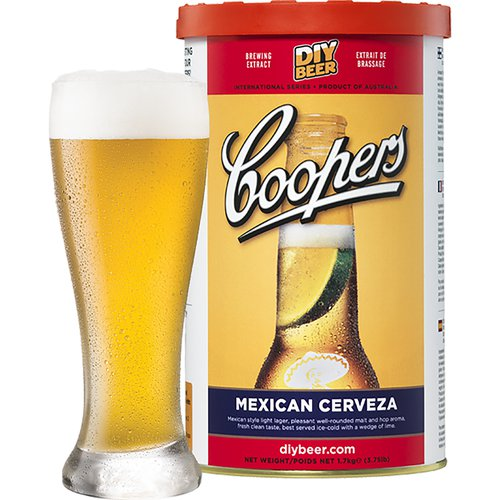 Coopers Beer Kit Mexican Cerveza (6 Gallon/23 Litre)