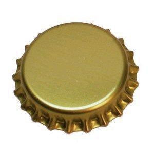 Oxygen Barrier Beer Bottle Caps (144 pack - Gold) - Toronto Brewing