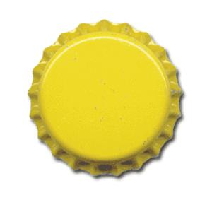 Oxygen Barrier Beer Bottle Caps (144 pack - Yellow) - Toronto Brewing