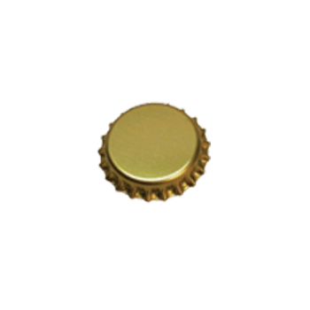 Oxygen Barrier Beer Bottle Caps (Gold - 10,000 pack) - Toronto Brewing