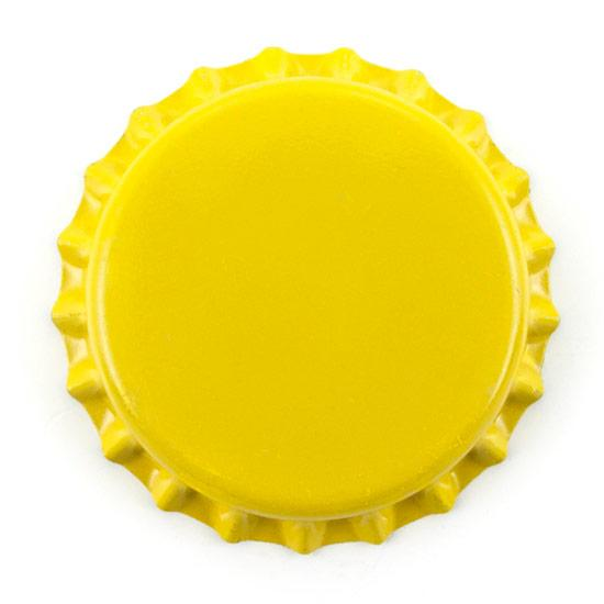Oxygen Barrier Beer Bottle Caps (Yellow - 10,000 pack) - Toronto Brewing