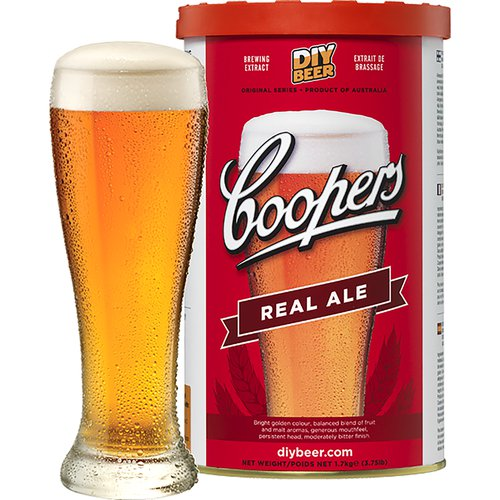Coopers Beer Kit Real Ale (6 Gallon/23 Litre)