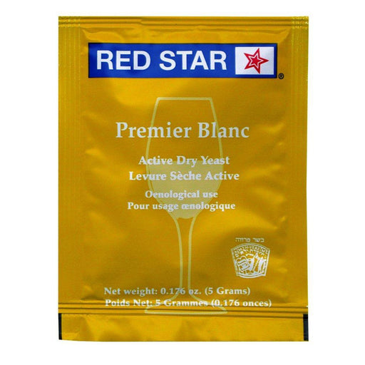 Red Star Premier Blanc (Champagne) Dry Wine Yeast (5 g) - Toronto Brewing