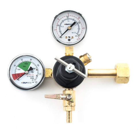"Taprite T-Knob CO2 Gas Regulator (5/16"")"
