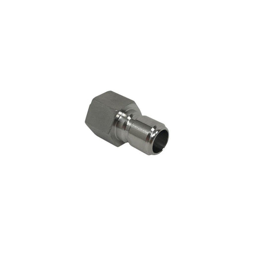 "Spike Brewing Stainless Steel Male Quick Connect to 1/2"" Female NPT Fitting - Toronto Brewing"