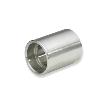 "Stainless Steel 1/2"" Coupler (Machined) - Toronto Brewing"