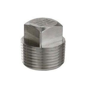 "Stainless Steel 1/2"" Male NPT Plug - Toronto Brewing"