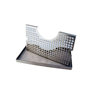 Stainless Steel Cut Out Drip Tray for Towers - Toronto Brewing