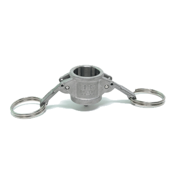 Stainless Steel Dust Cap for Type A, E and F Camlock Adaptors - Toronto Brewing
