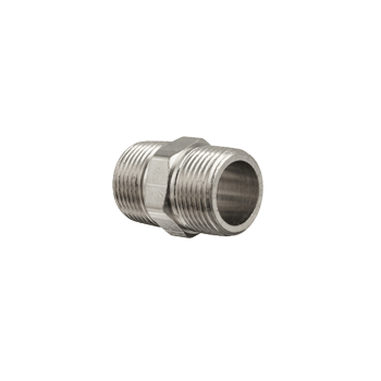 "Stainless Steel Hex Nipple (1/2"") - Toronto Brewing"