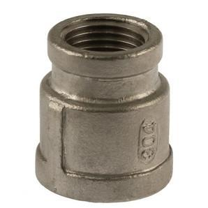 "Stainless Steel Reducer Coupler (1/2"" x 3/8"") - Toronto Brewing"