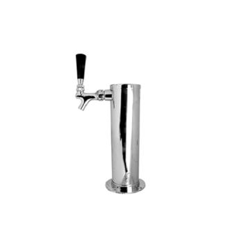 Stainless Steel Single Tap Beer Tower - Sanke D - Toronto Brewing