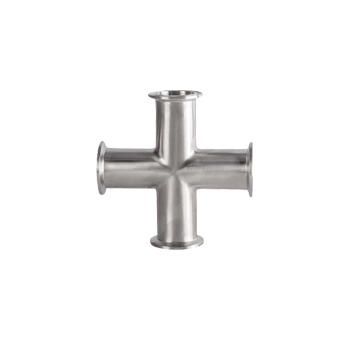 "Stainless Steel Tri-Clamp 1.5"" Cross - Toronto Brewing"