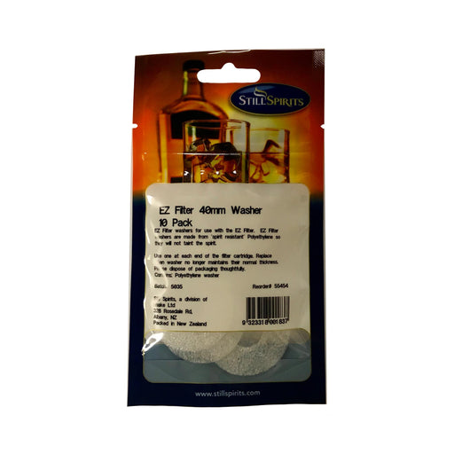 Still Spirits EZ Filter 40mm Washer (10 per pack) - Toronto Brewing