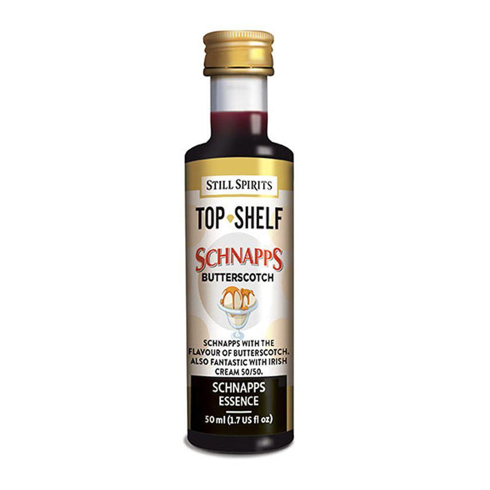 Still Spirits Top Shelf Butterscotch Schnapps (50 ml) - Toronto Brewing