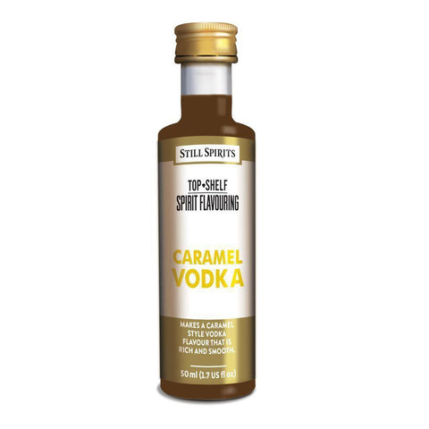Still Spirits Top Shelf Caramel Vodka Essence (50 ml) - Toronto Brewing