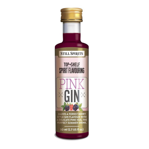 Still Spirits Top Shelf Pink Gin Essence (50 ml) - Toronto Brewing