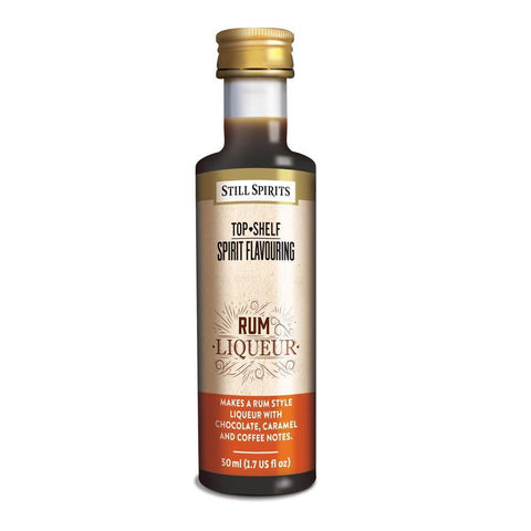 Still Spirits Top Shelf Rum Liqueur Essence (50 ml) - Toronto Brewing