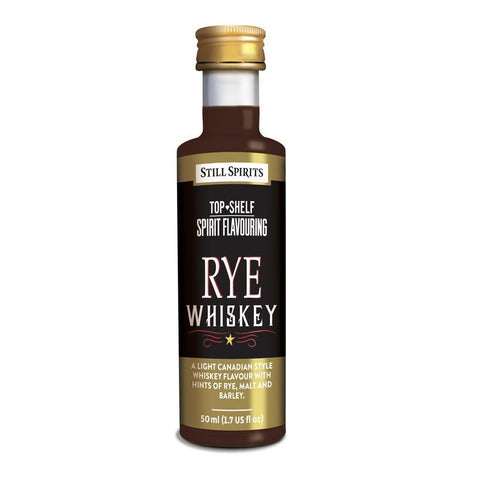 Still Spirits Top Shelf Rye Whiskey Essence (50 ml) - Toronto Brewing