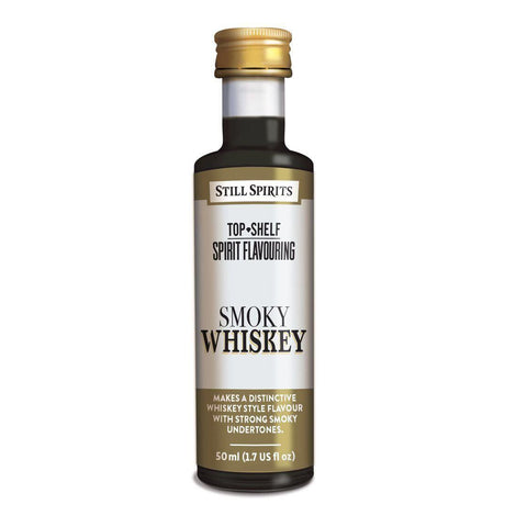 Still Spirits Top Shelf Smokey Malt Whiskey Essence (50 ml) - Toronto Brewing