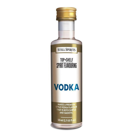 Still Spirits Top Shelf Vodka Essence (50 ml) - Toronto Brewing