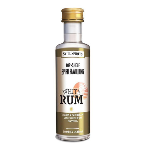Still Spirits Top Shelf White Rum Essence (50 ml) - Toronto Brewing