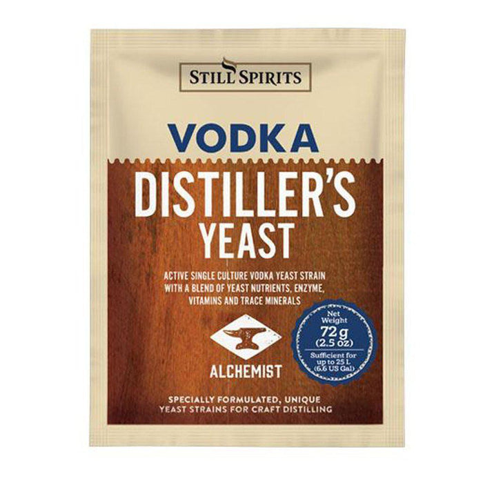 Still Spirits Vodka Distiller's Turbo Yeast (72 g) - Toronto Brewing