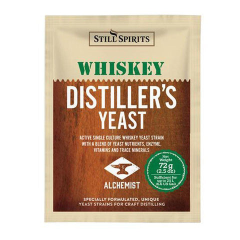 Still Spirits Whiskey Distiller's Turbo Yeast (72 g) - Toronto Brewing