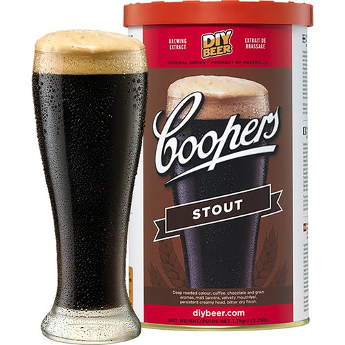 Coopers Beer Kit Stout (6 Gallon/23 Litre)