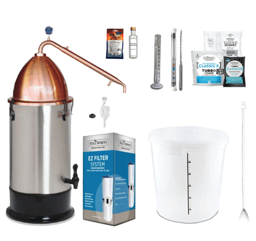 Still Spirits Turbo 500 with Copper Alembic Dome Starter Pack