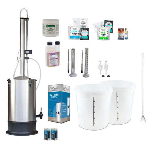Still Spirits Turbo 500 with Stainless Steel Condenser Deluxe Starter Pack