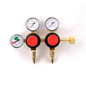 Taprite Dual Product Dual Gauge CO2 Regulator (MFL) - Toronto Brewing
