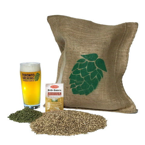 Toronto Brewing Belgian Saison Ale All-Grain Recipe Kit (5 Gallon/19 Litre) - Toronto Brewing