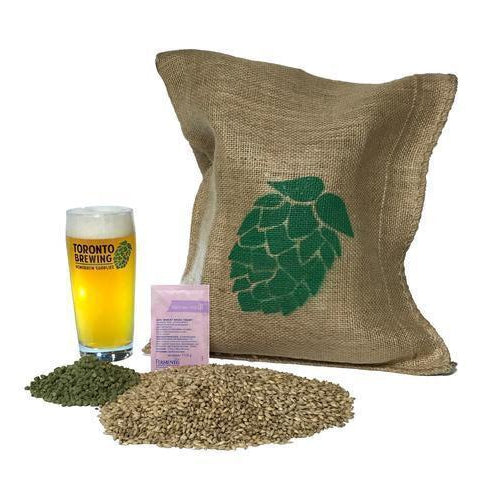Toronto Brewing Belgian Witbier All-Grain Recipe Kit (5 Gallon/19 Litre) - Toronto Brewing