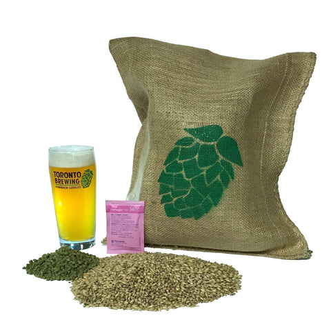 Toronto Brewing Canadian Lite All-Grain Recipe Kit (5 Gallon/19 Litre) - Toronto Brewing