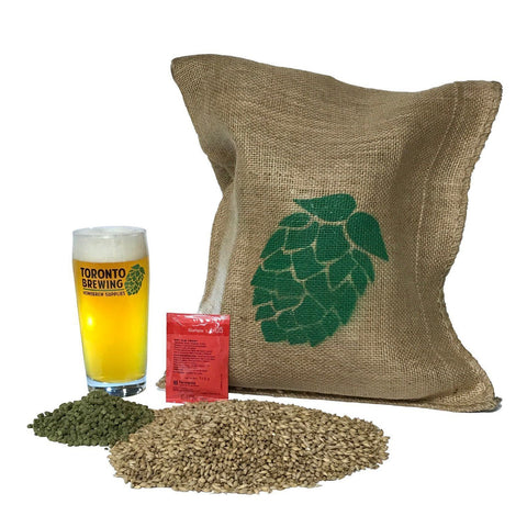 Toronto Brewing Hazy IPA Beer All-Grain Recipe Kit (5 Gallon/19 Litre) - Toronto Brewing