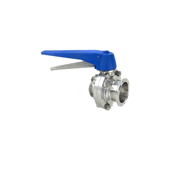 "Triclamp - 1.5"" TC ButterFly Ball Valve, Squeeze Trigger - Toronto Brewing"
