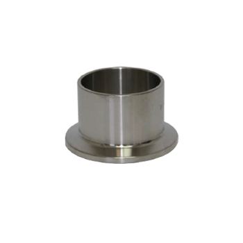 "Triclamp - Stainless Steel Tri-Clamp Fitting - 1.5"" Ferrule (0.875"" Length) - Toronto Brewing"