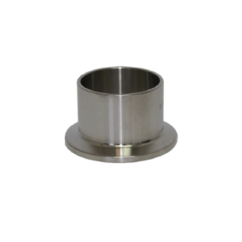 "Triclamp - Stainless Steel Tri-Clamp Fitting - 1.5"" Ferrule (1.125"" Length) - Toronto Brewing"