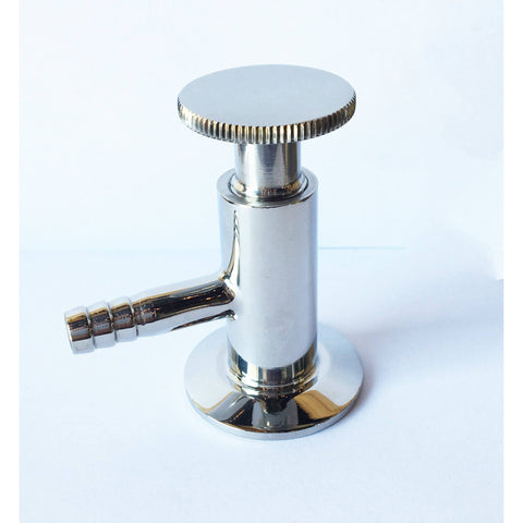"Triclamp - Stainless Steel Tri-Clamp Fitting - 1.5"" Sample Valve - Toronto Brewing"