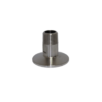 "Triclamp - Stainless Steel Tri-Clamp Fitting - 1.5"" TC x 3/4"" Male NPT - Toronto Brewing"