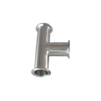"Triclamp - Stainless Steel Tri-Clamp Fitting - 1.5"" Tri-Clamp Tee - Toronto Brewing"