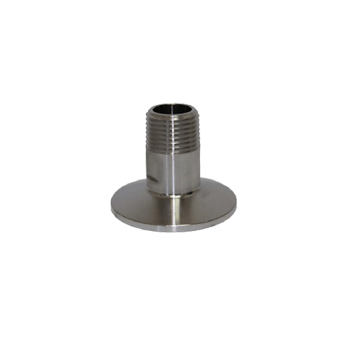 "Triclamp - Stainless Steel Tri-Clamp Fitting - 2"" TC x 1/2"" Male NPT - Toronto Brewing"