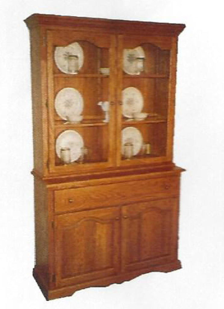 "48"" Hutch and Buffet"
