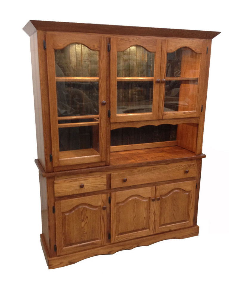 "60"" Mixed Door Hutch and Buffet"