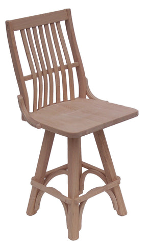 9108 Flat Top Swivel Barstool